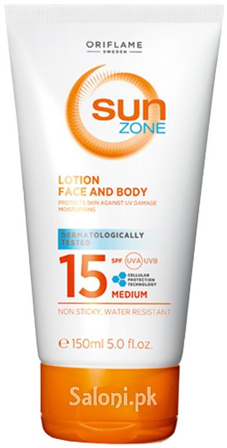 Oriflame Sun Zone Body and Face Lotion