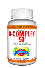 The Vitamin Company Vitamins B-Complex 50