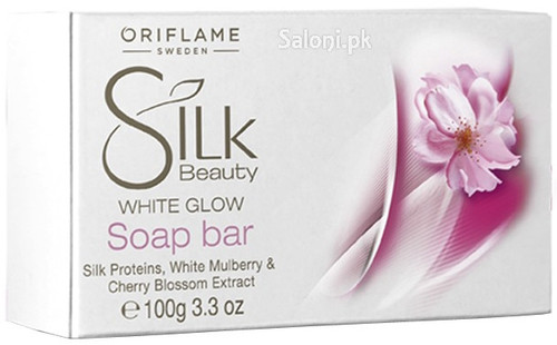 Oriflame Silk Beauty White Glow Soap Bar