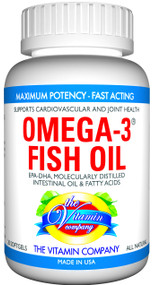 The Vitamin Company Omega 3 Fish Oil