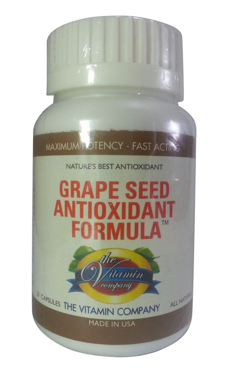 The Vitamin Company Grape Seed Antioxidant Formula(Front)