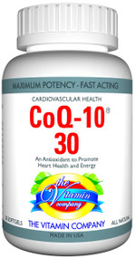 The Vitamin Company COQ-10 30 MG