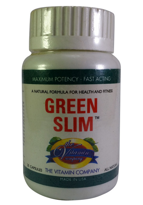 The Vitamin Company Green Slim 20 Capsules