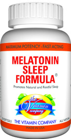 The Vitamin Company Melatonin Sleep Formula