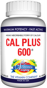 The Vitamin Company Cal Plus-600