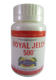 The Vitamin Company Royal Jelly 500 20 Capsules