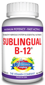 The Vitamin Company Sublingual B-12