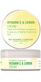The Vitamin Company Vitamin C & Lemon Cream