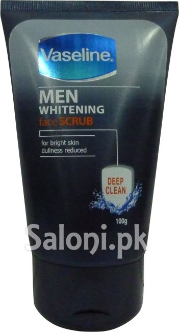Vaseline Men Whitening Deep Clean Face Scrub