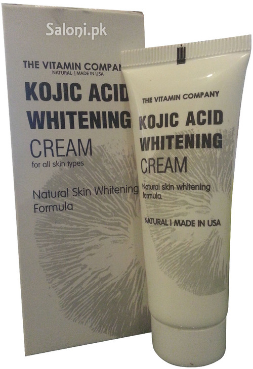 The Vitamin Company Kojic Acid Whitening Cream For Rs 350