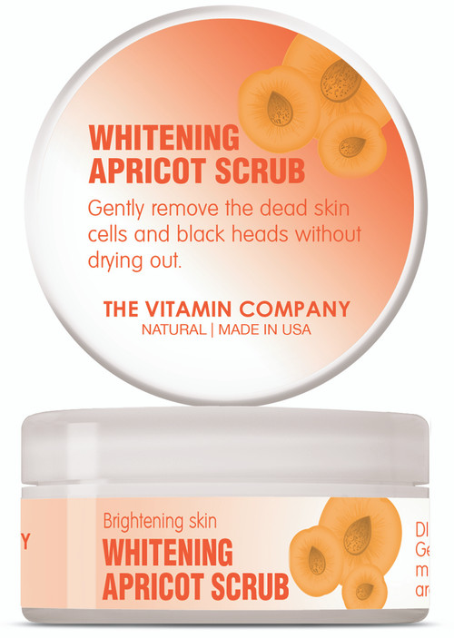The Vitamin Company Whitening Apricot Scrub