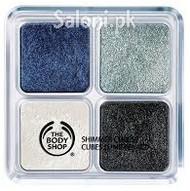 The Body Shop Shimmer Cubes Blue Moon