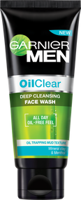 Garnier Men Oil Clear Deep Cleansing Face Wash