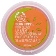 The Body Shop Born Lippy Pink Guava Lip Balm