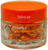 The Body Shop Vitamin C Facial Radiance Capsules 28 Capsules