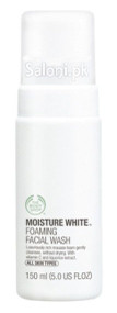 The Body Shop Moisture White Foaming Facial Wash
