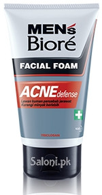 Men's Biore Facial Foam Acne Defense