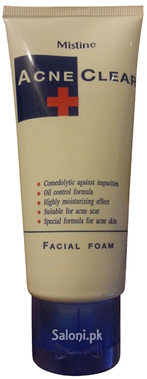 Mistine Acne Clear Facial Foam Front