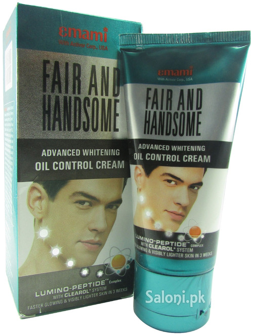 Emami Fair and Handsome Advanced Whitening Oil Control Cream (Front)