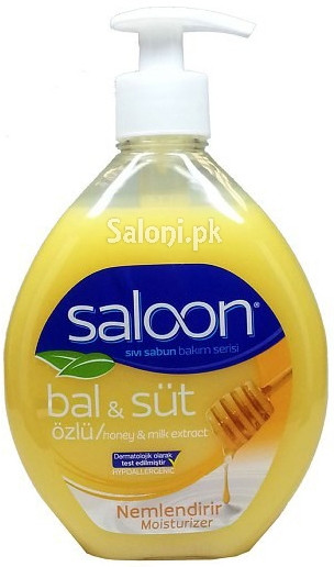 Saloon Liquid Soap Honey & Milk Extract