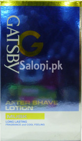 Gatsby After Shave Lotion Musk (Front)