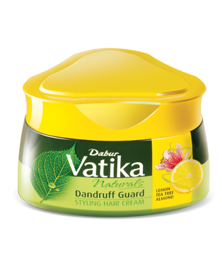 Dabur Vatika Naturals Dandruff Guard Style Hair Cream