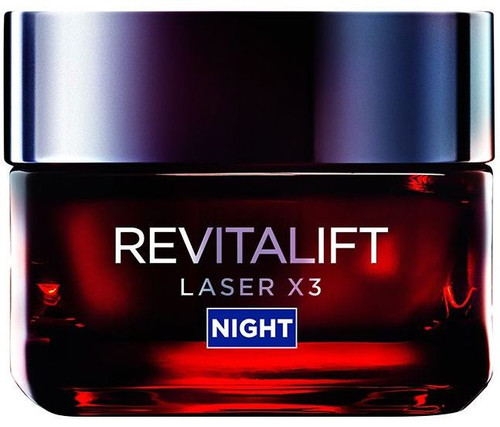L'oreal Paris Revitalift Laser X3 Night Cream Jar