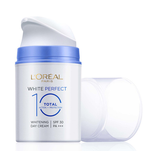 L'oreal Paris White Perfect Total 10 Whitening Day Cream SPF 30 PA +++