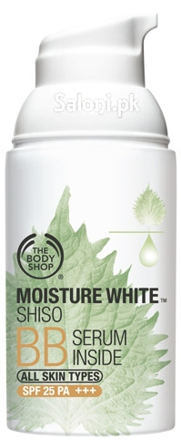 The Body Shop Moisture White Shiso BB Serum Inside SPF 25 PA +++