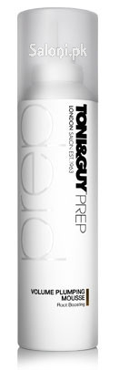 Toni & Guy Prep Volume Plumping Mousse Root Boosting