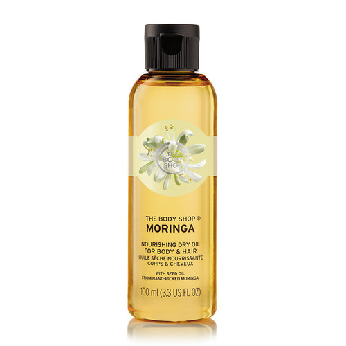 The Body Shop Moringa Nourishing Dry Oil For Body and Hair