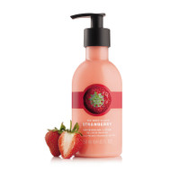 The Body Shop Strawberry Puree Body Lotion 250 ML