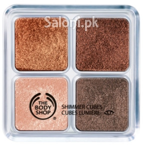 The Body Shop Shimmer Cubes Chocolate/Brown