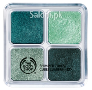 The Body Shop Shimmer Cubes Green Light
