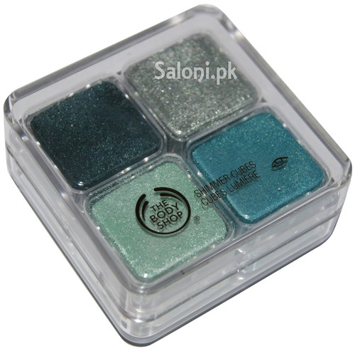 The Body Shop Shimmer Cube Green