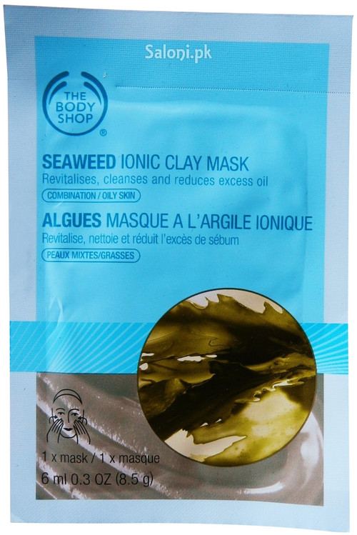 The Body Shop Seaweed Ionic Clay Mask