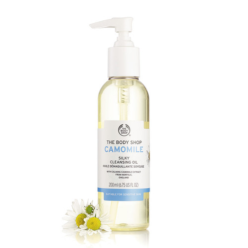 Camomile Silky Cleansing Makeup Remover Oil 200 ML