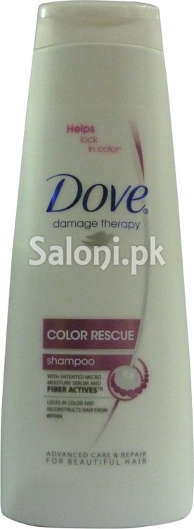 Dove Damage Therapy Color Rescue Shampoo (Front)