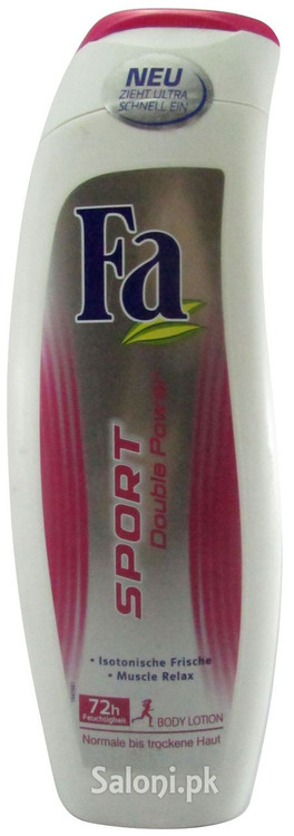 Fa Sport Double Power Body Lotion Front