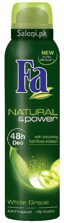 Fa Natural & Power White Grape Anti-perspirant