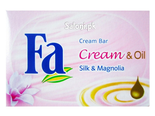 Fa Cream & Oil Silk & Magnolia Bar Soap