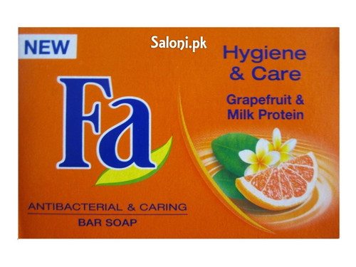 Fa Grapefruit & Milk Protein Antibacterial & Caring Bar Soap