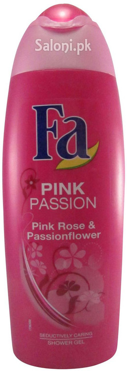 Fa Pink Passion Pink Rose & Passionfruit Shower Gel Front