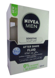 Nivea For Men Sensitive After Shave Lotion 100 ML buy in pakistan original nivea men products