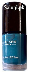 Oriflame Pure Colour Nail Polish Mini Marine Blue