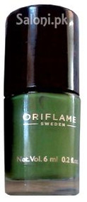 Oriflame Pure Colour Nail Polish Mini Serene Green