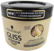 Schwarzkopf Gliss Hair Repair Ultimate Oil Elixir Structure Build-Up Mask