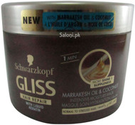 Schwarzkopf Gliss Hair Repair Marrakesh Oil & Coconut Intensive Moisture Mask Front