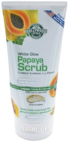 Hollywood Style White Glow Papaya Scrub