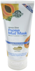Hollywood Style White Glow Papaya Mud Mask